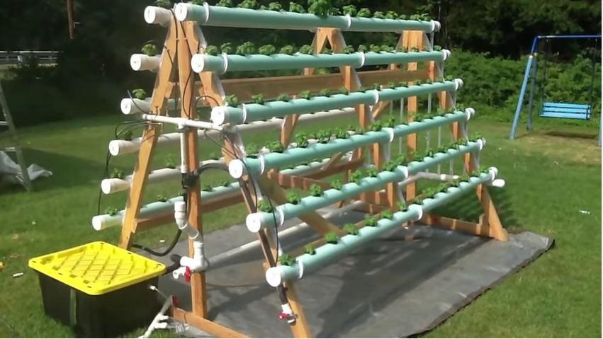 Hydroponic Veggie Garden Tutorial