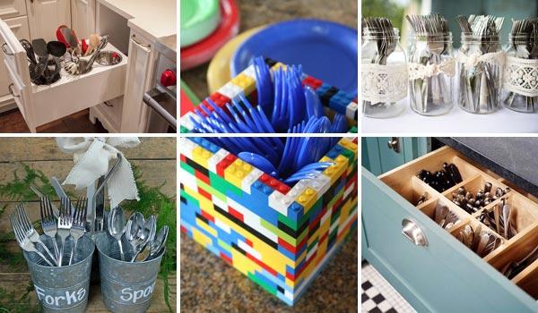 Cool DIY Cutlery Storage Solutions