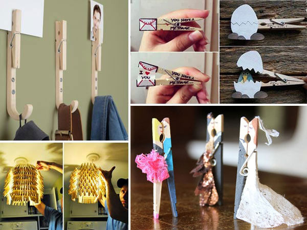 Creative DIY Clothespins