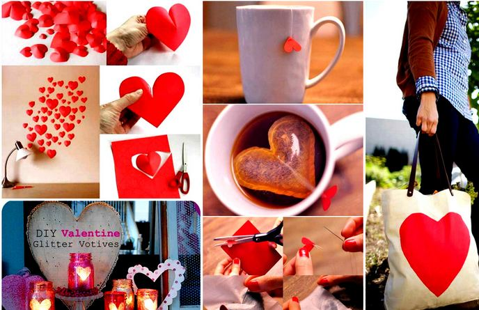 Amazing Easy Heart-Shaped DIY Crafts