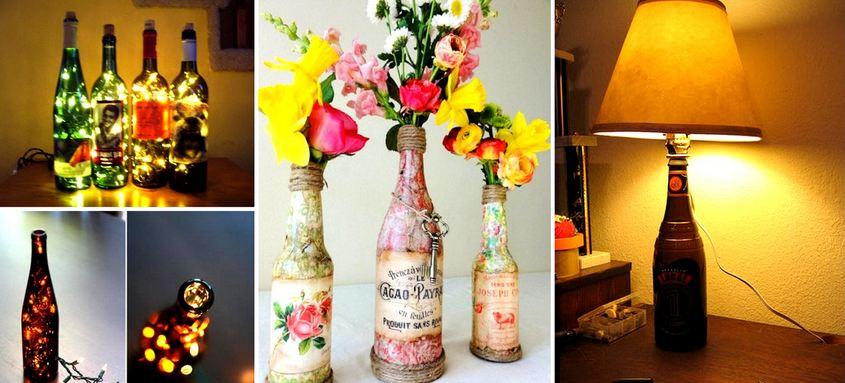 34 Cool DIY Wine Bottle Projects
