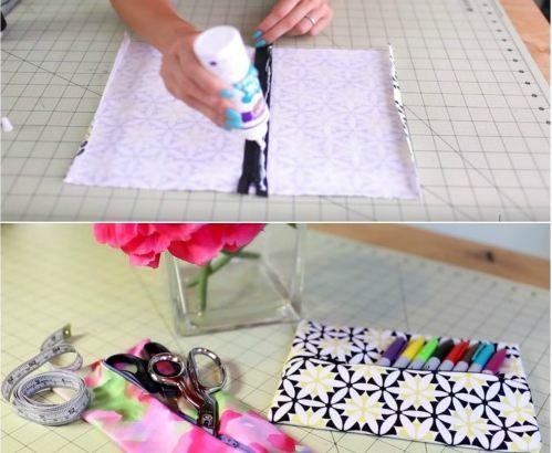 Pencil Case and Makeup Bag Tutorial