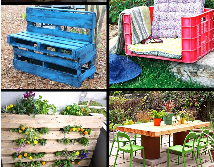 Awesome DIY Garden Furniture Ideas