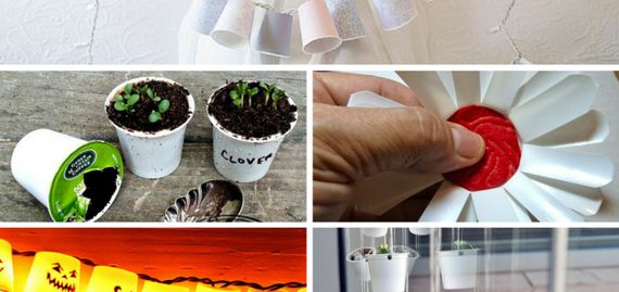 Homemade Eco-Friendly Coffee Cup Crafts