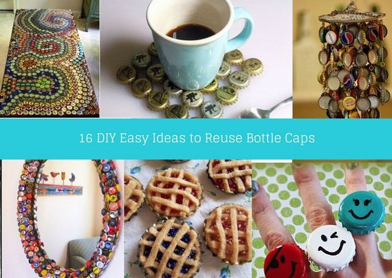 Unique DIY Bottle Cap Art Ideas