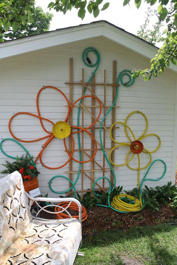Cool Ways To Repurpose Old Garden Tools