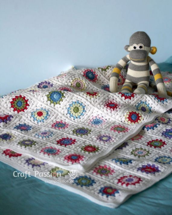 07-Free-and-Cute-Baby-Blanket-Crochet-Patterns