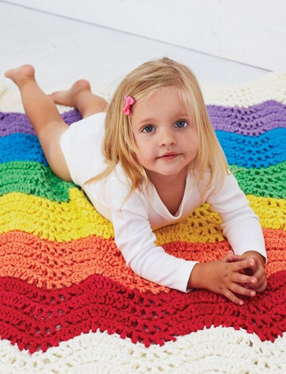 08-Free-and-Cute-Baby-Blanket-Crochet-Patterns