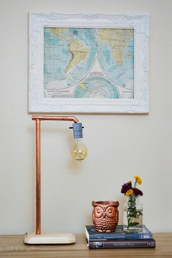 Diy copper pipe tutorials for Copper pipe projects