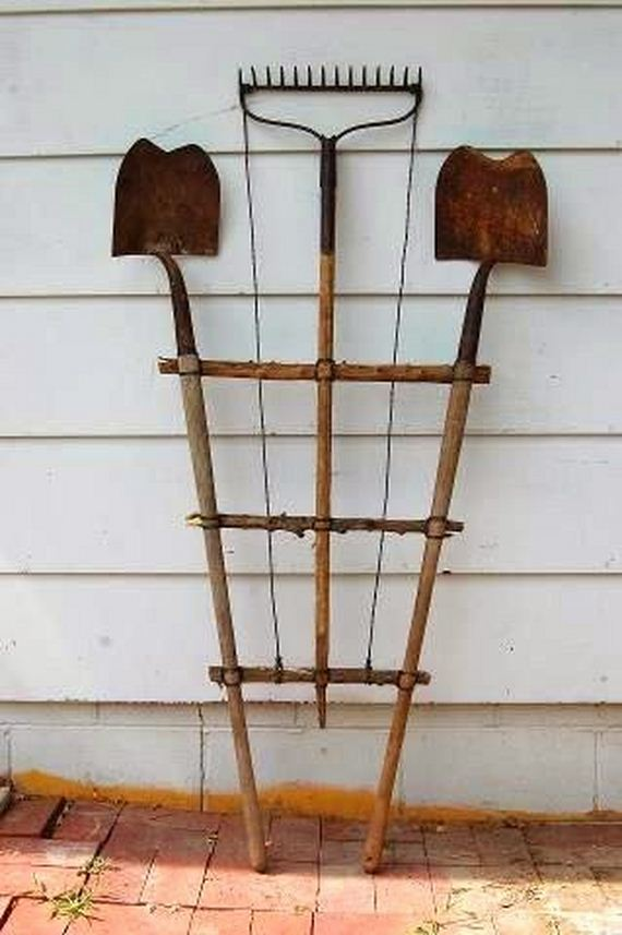 12-Amazing-Ways-to-Repurpose-Old-Garden-Tools