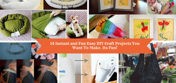 Easy and fun diy craft projects for Fun easy diy crafts