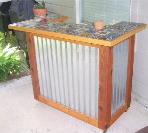 Cool Diy Outside Bar Ideas