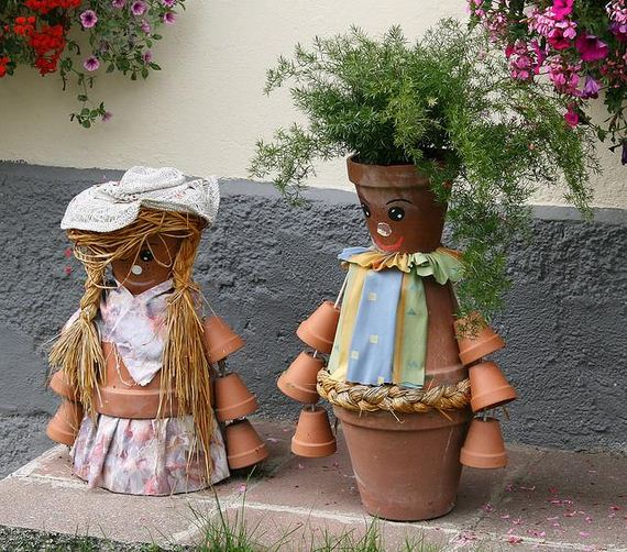 Amazing DIY Garden Decorations