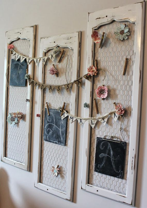 Using Shutters As Wall Decor
