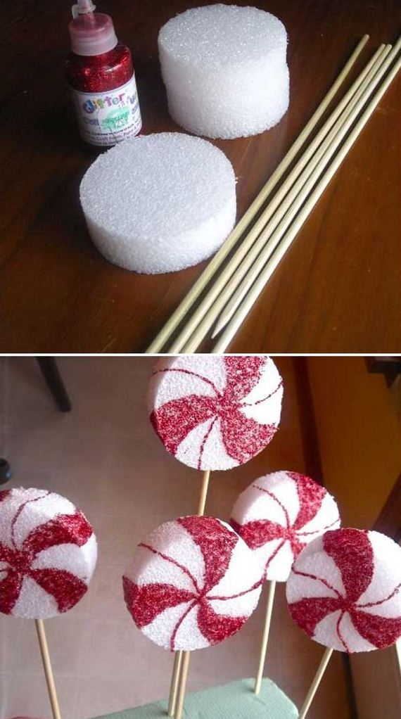 Cool diy christmas decoration ideas for Christmas decoration ideas to make