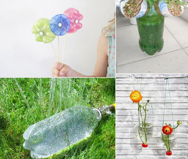 Cool things to make from plastic bottles for Things to do with plastic bottles