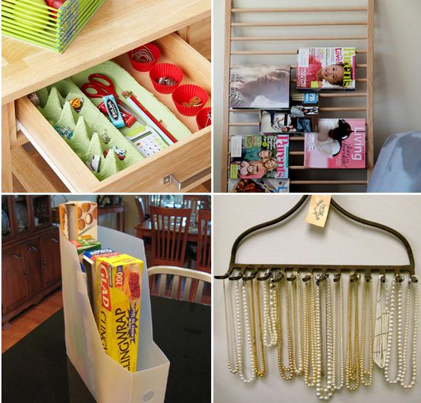 Amazing Storage Ideas Using Repurposed Finds