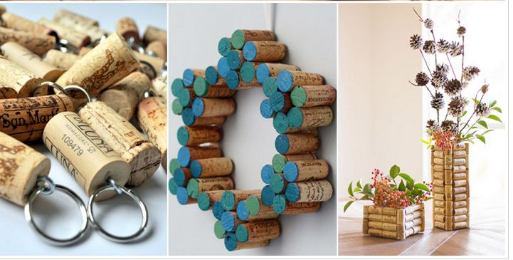 Clever DIY Cork Crafts