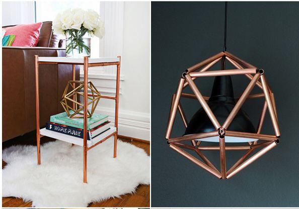DIY Copper Pipe Tutorials