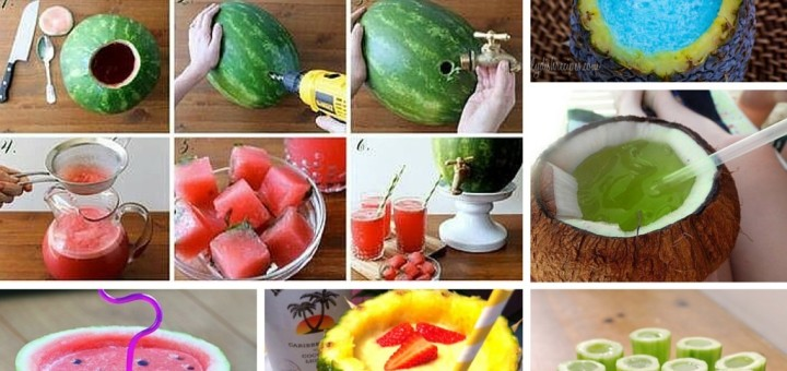 Awesome DIY Fresh Fruit Juice Ideas
