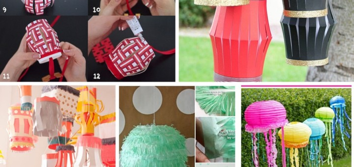 Amazing diy paper lanterns ideas for Chinese lantern ideas