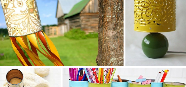 Amazing DIY Empty Tin Cans Recycled Crafts