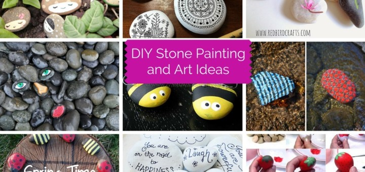 DIY Stone Art Painting Ideas
