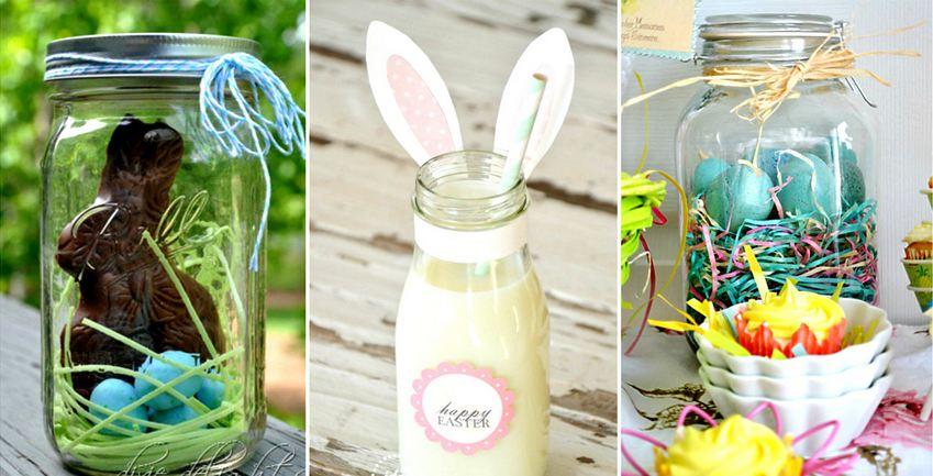 DIY Easter Mason Jars Crafts