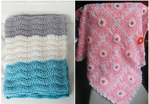 Free Crochet Baby Patterns For Blankets : Unique Baby Blanket Crochet Patterns