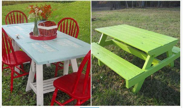 10 free picnic table plans