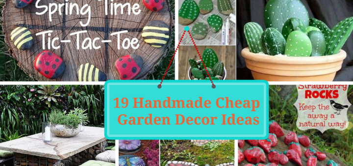Cheap DIY Garden Decor Tutorials