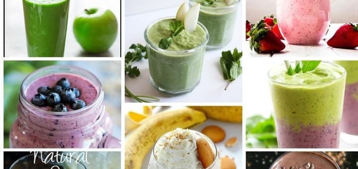 DIY Detox Healthy Smoothie Recipes