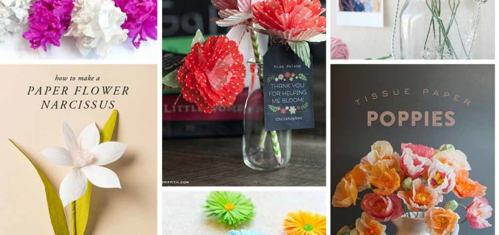 Amazing DIY Paper Flowers Ideas