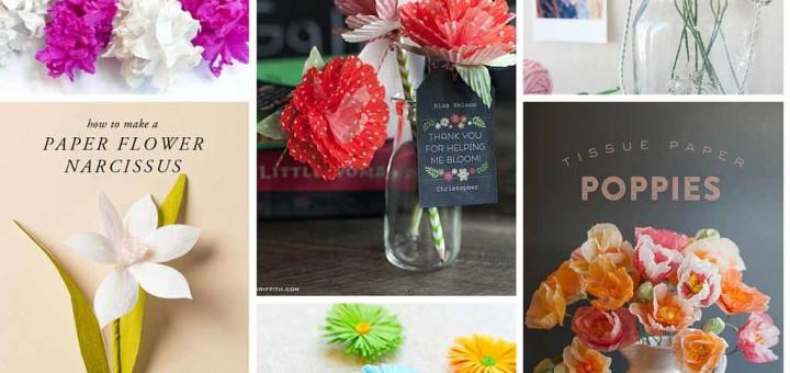 Amazing DIY Paper Flowers Ideas