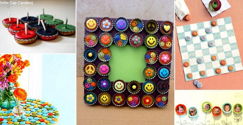 19 diy bottle cap crafts for Diy bottle cap crafts