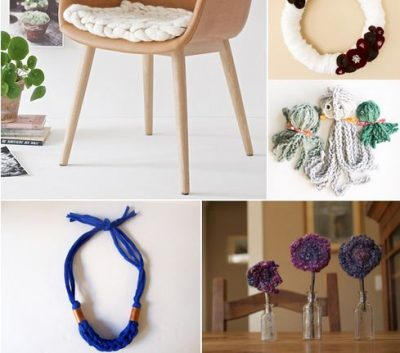 Cool and Fun Finger Knitting Projects