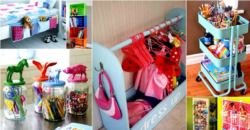 Cool Tips to Organize Your Child's Room