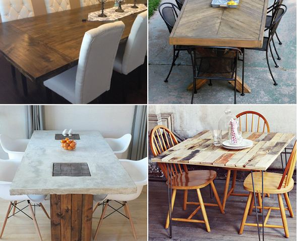 10 Unique Diy Dining Table Ideas