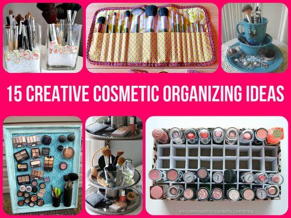 Awesome Cosmetic Organizing Ideas