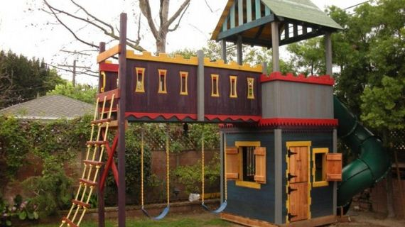 DIY Playhouses For Your Kids