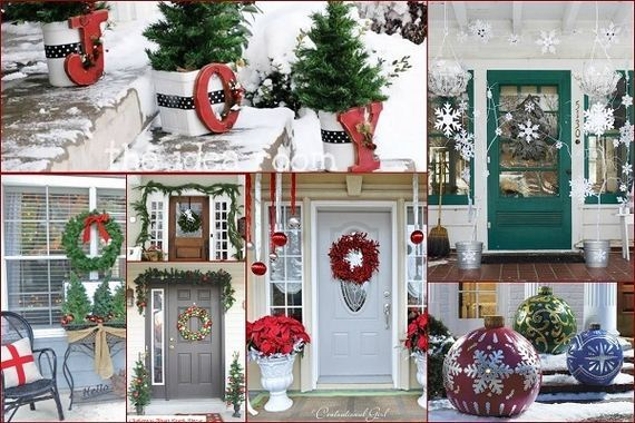 Awesome Porch Christmas Decor Ideas