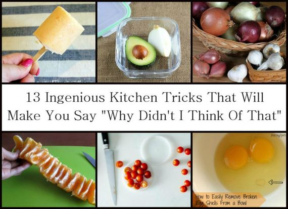 Cool Kitchen Tricks