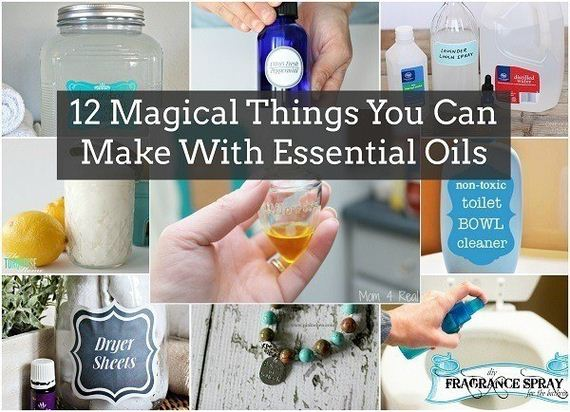 Amazing Things You Can Make With Essential Oils