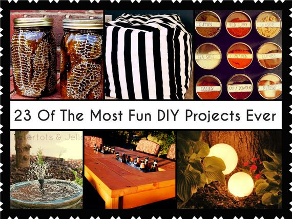 The Coolest DIY Projects Ever