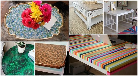 Amazing Ways To Transform Ugly Tables