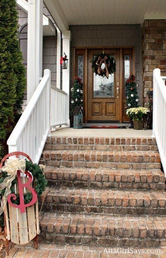Awesome Porch Christmas Decor Ideas