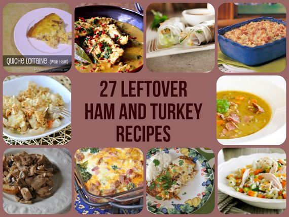 Amazing Leftover Ham And Turkey Recipes