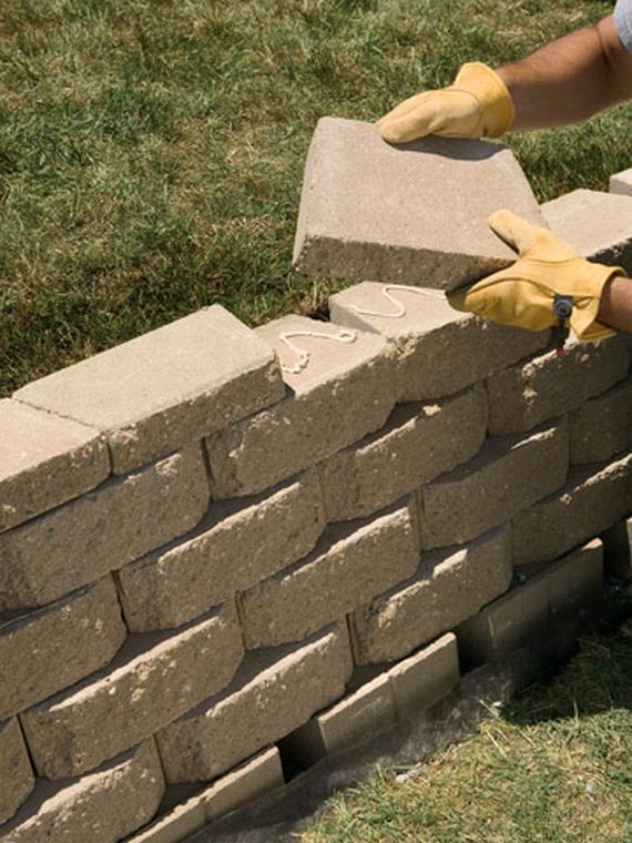 How To Build A Small Boarder Wall