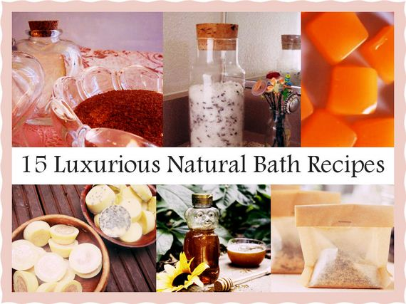 Luxurious Natural Bath Recipes