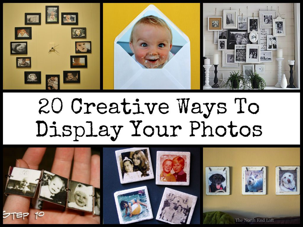 Cool Ways To Display Your Photos